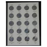 Littleton State Quarters 1999-2008 Album with Complete Set of All 50 US State Quarters - INSTANT COLLECTION