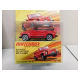 New in Package Collectible Matchbox Cars Lensey Edition (Quantity 4)