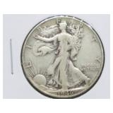1946 W.L. Walking Liberty Half Dollar