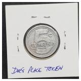 5 Cent Trade Token from Doc