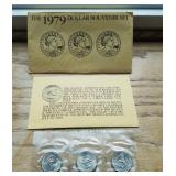 The 1979 Dollar Souvenir Set Susan B. Anthony Dollar Coin