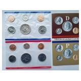 1984 Uncirculated Coin Set from the United States Mint with D & P mint marks