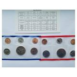 1985 Uncirculated Coin Set with D & P Mint Marks