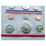1987 Uncirculated Coin set with D & P Mint Marks