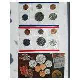 1990 uncirculated coin set by the United States Mint