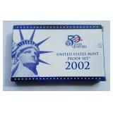 2002 United States Mint Proof Set