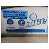 New nICE Brand Roto-mold Cooler