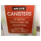 New Chalkboard Canister Set
