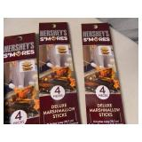 5 New Packages of Hersheys Smores Deluxe Marshmallow Sticks