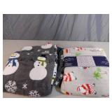 2 New Super Soft Throws