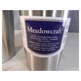 2 New Meadowcraft 20 oz Tumblers with Metal Straws