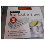 New Ice Cube Trays and New Measuring Cup Set
