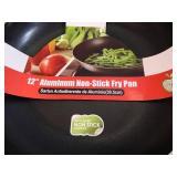 3 New Aluminum Non Stick Fry Pans