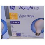 2 New Boxes of LED Lightbulbs