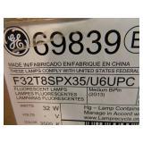 New Case of 12 T8 Moduline Fluorescent Bulbs