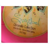 2 New Large Citronella Candles