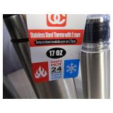 3 New Assorted Thermos