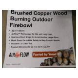 New Wood Burning Fire Pit