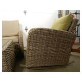 New 4 Piece Patio Set with Cushions