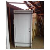 3/0 garage service door
