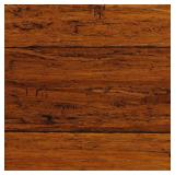 Home Decorators Collection Hand Scraped Strand Woven Harvest 3/8 in. T x 5-1/8 in. W x 36 in. L Engineered Click Bamboo Flooring 256 S.F
