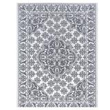 Tayse Rugs Majesty Ivory 8 ft. x 10 ft. Traditional Area Rug