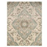 (3) Home Decorators Collection Sherrington Blue 1 ft. 11 in. x 3 ft. 5 in. Area Rug