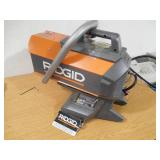 RIDGID 18-Volt 60K BTU Hybrid Forced Air Propane Portable Heater