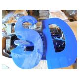 """Huge box of 18"""" acrylic letters for retail"""