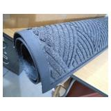 New - NoTrax Opus Charcoal 36 in. x 48 in. Rubber-Backed Entrance Mat