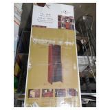 ClosetMaid Impressions 19.65 in. D x 25.12 in. W x 82.46 in. H Dark Cherry Deluxe Hutch Laminate Closet System Kit