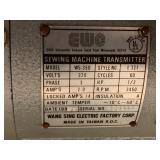"Brother ""EF4-B511-0025"" Industrial Sewing Machine Set"
