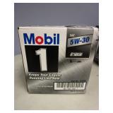 MOBIL 1 5W-30 MOTOR OIL - NEW