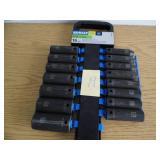 "Kobalt 16 pc 1/2"" Drive Sockets"
