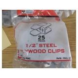Steel Plywood Clips