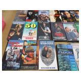 VHS - Cassettes - CDs