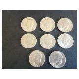 8 - 1974 Eisenhower Dollars