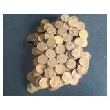 350 Assorted Wheat Pennies