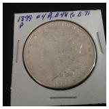 1899 P Morgan Dollar