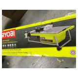 RYOBI 7 in. 4.8 Amp Tabletop Tile Saw in good condition