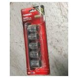 Husky 1/2 in. Drive SAE X-Large Socket Set (5-Piece) in good condition