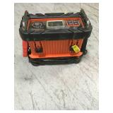 BLACK+DECKER 15 Amp Battery Charger with 40 Amp Engine Start in good condition