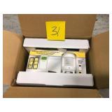 Defiant SunSmart 8-Amp In-Wall Indoor Digital Timer w/Motion Sensor #1000015589 3 PACK not used