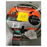Power Care 3,600 psi 9/32 in. x 30 ft. Replacement/Extension Hose with Adapter for Gas Pressure Washer in good condition