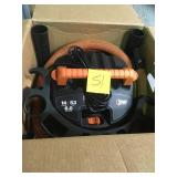RIDGID 14 Gal. 6.0-Peak HP Wet Dry Vac with Auto Detail Kit in good condition