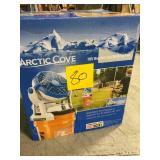 Arctic Cove 18-Volt 2 Speed Misting Bucket Top Fan