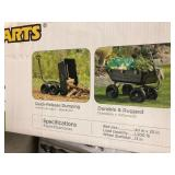 Gorilla Carts 1,200 lb. Heavy Duty Poly Dump Cart not used