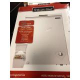 Magic Chef 5.0 cu. ft. Chest Freezer in White not used
