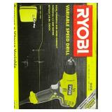 RYOBI 5.5 Amp Corded 3/8 in. Variable Speed Compact Drill/Driver with Bag in good condition