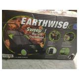 Earthwise 21 in. Sweep-It Push Lawn Sweeper with 2.61 Bushel Collection Bag  in good condition